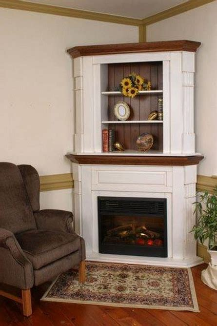 Corner Fireplace With Mantel by Homeofficedecoration Corner Fireplace Mantels