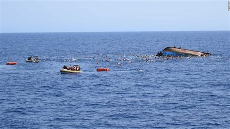 refugee boat sinks italy dozens feared drowned as migrant boat sinks off libya