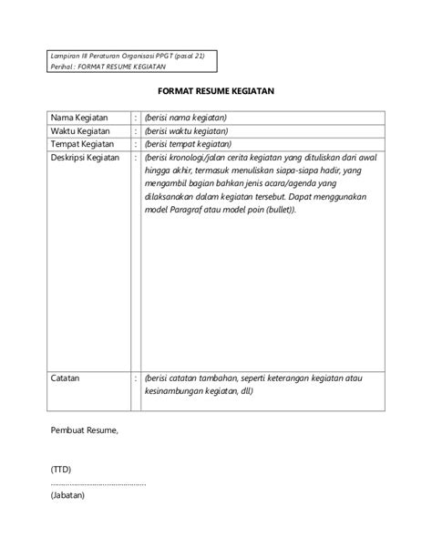 format cv panitia po ppgt 2014