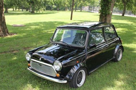 find used classic mini mayfair mini cooper black
