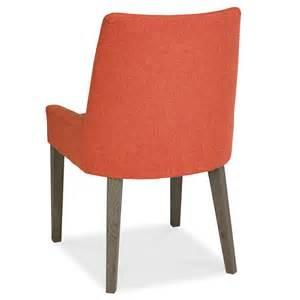 Burnt Orange Dining Chairs Firenze Burnt Orange Fabric Dining Chair
