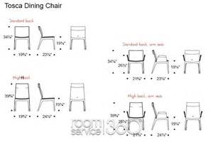 standard dining table chair dimensions images