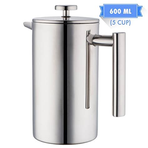 Cyprus Press Plunger Coffee Maker 600 Ml For 6 Cups top 17 for best stainless steel coffee pot