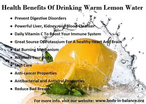 Why Check Ppd For Detox by Health Benefits Of Warm Lemon Water Health24