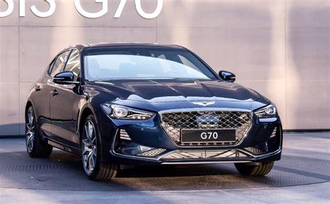 Hyundai Genesis G70 2020 by 2020 Hyundai Genesis G70 Specs Interior Price 2020 Hyundai