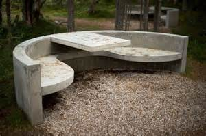 concrete patio sts outdoor d 233 cor trend 26 concrete furniture pieces for your backyard digsdigs