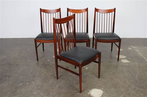 Set Of Four Arne Vodder Rosewood Dining Chairs For Sale At Arne Vodder Dining Chairs