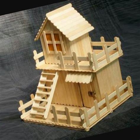 houseboat with icecream stick wisgoon ویسگون کاردستی باچوب بستنی 17962200