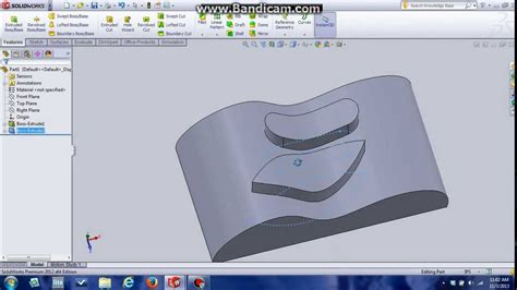 sketch pattern along curve solidworks how to extrude curvature surface solidworks youtube