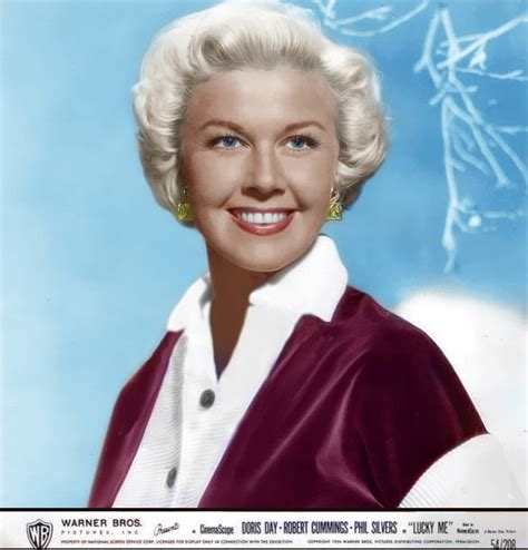 what color is doris days natural hair doris day movie of the month movie of the month lucky