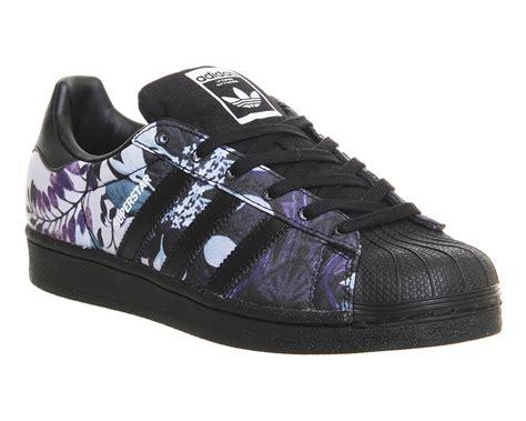 Sepatu Adidas Superstar Low Unisex Made In 1 adidas superstar 1 black floral print w unisex sports