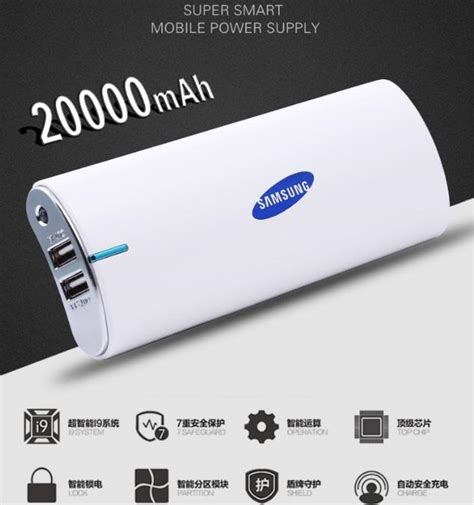 Power Bank Samsung A016 20000mah samsung power bank with new end 6 20 2019 1 15 pm