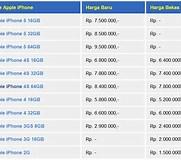 Image result for Daftar Harga iPhone