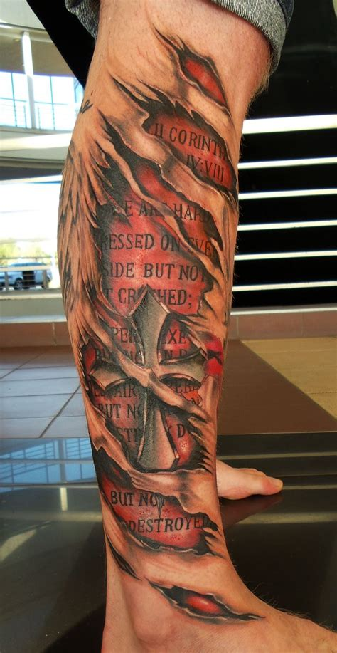 images of tattoos with shoulder muscle tear graphics best