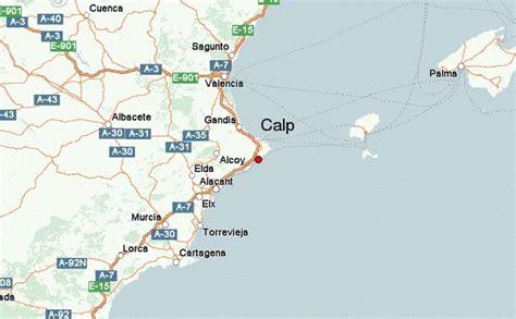 calpe spain map calpe location guide