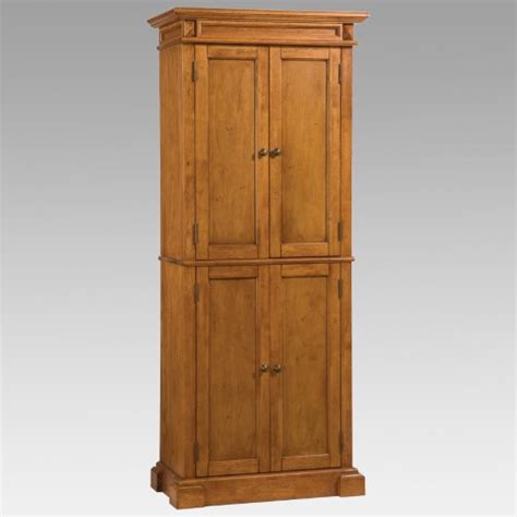 Home Styles Americana Pantry by Home Styles Americana Solid Hardwood Cottage Oak Finish