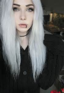 white hair teenage girl with white hair cute or freaky girlsaskguys