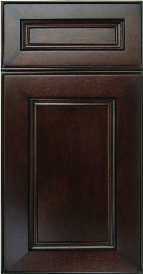 CNC Alexandria Espresso   CNC All Wood Kitchen Cabinets