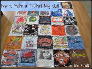 how to make a t shirt rag quilt the non quilter s quilt