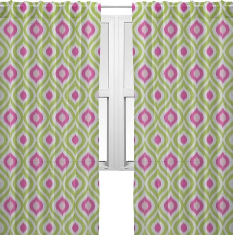 Ikat Ogee Curtains Ogee Ikat Sheer Curtains 60 Quot X84 Quot Personalized Youcustomizeit