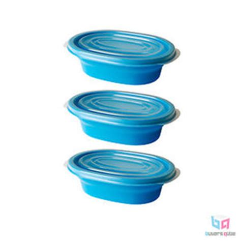 Tupperware Ikea 3 pack ikea r 228 ta food container tupperware blue holds 14