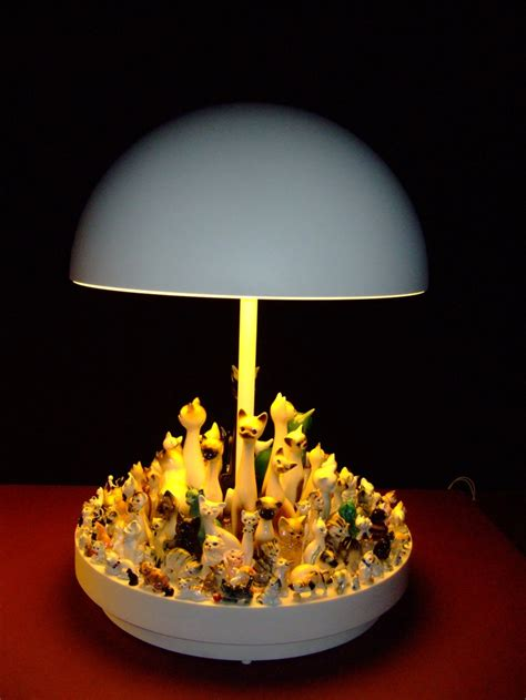 More Clever Lighting From Stuart Haygarth by Stuart Haygarth Upcycled Cat Light Upcycled