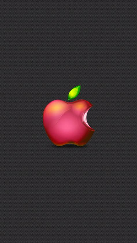 wallpaper apple logo iphone red apple logo 03 iphone wallpapers iphone 5 s 4 s 3g