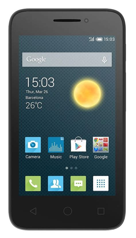 Hp Alcatel Go Play alcatel one touch pixi 3 4 5 quot unlocked gsm 3g 5mp android