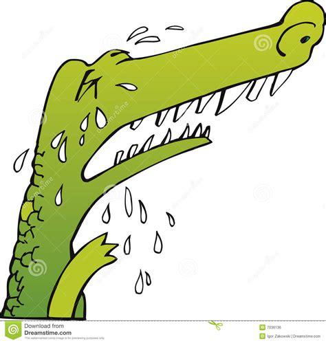 Crying Crocodile Royalty Free Stock Image - Image: 7036136