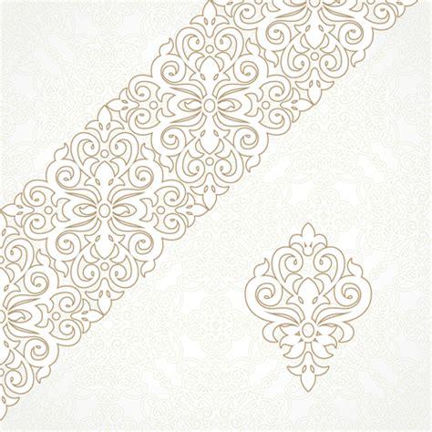oriental pattern ai ornate oriental floral pattern vector background 03