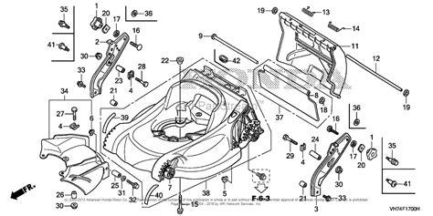 honda hrx217 parts diagram honda hrx217 tda lawn mower usa vin maga 1000001 to