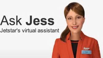 jetstar launches assistant quot jess quot contact centre