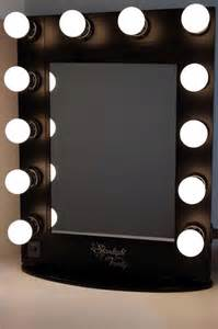 Vanity Mirror With Lights Black Starlight Lighted Vanity Makeup Mirror Table Top