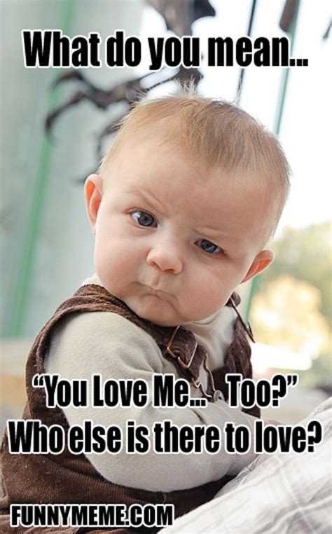 Too Cute Meme Face - 205 best images about skeptical baby boy on pinterest to