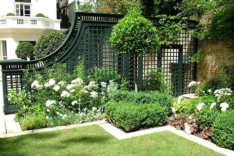 Trellis In Garden Trellis On The Patio And Landscape