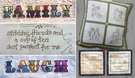 Patchwork Shops Nz - patchwork lettering stitchery applique fabrics the