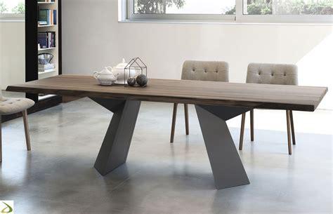 tavoli per soggiorni moderni tavolo design fiandre di bontempi arredo design