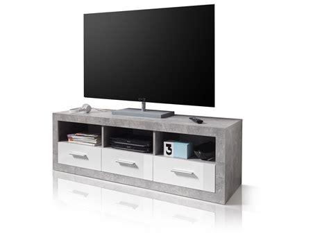 tv board beton stella lowboard beton wei 223