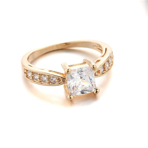 Cincin Trendy Fashion Ring 1 1pcs lot trendy promation zircon ring for delicate