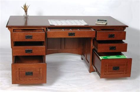 amish lincoln executive desk amish office furniture