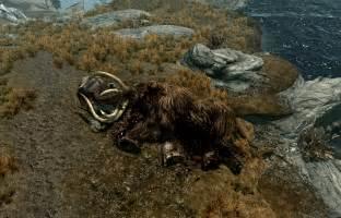 dead mammoth elder scrolls wikia