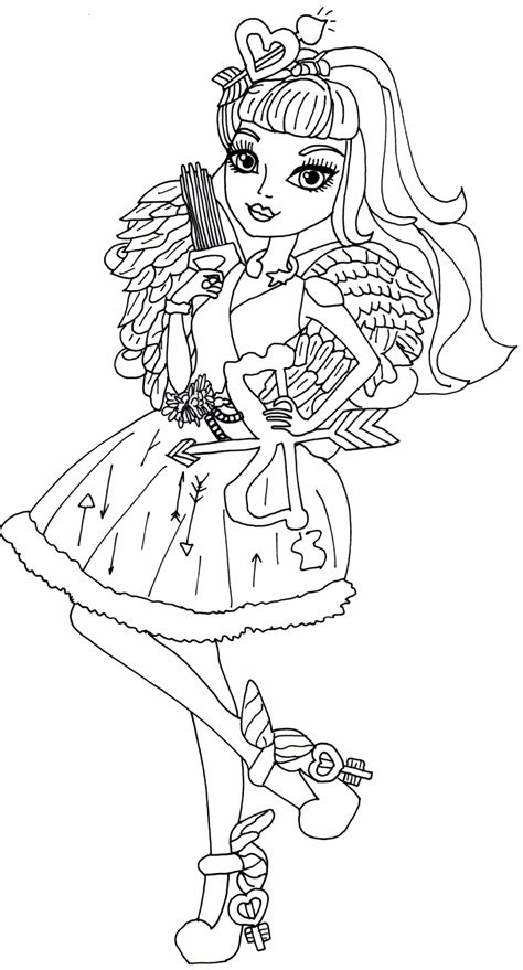 coloring pages ever after high raven queen free printable ever after high coloring pages january 2014