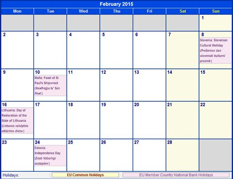 February 2015 Printable Calendar Search Results For Calendar 2015 February Printable Page