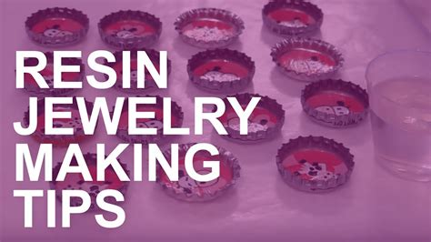 what do i need to make resin jewelry resin jewelry tips