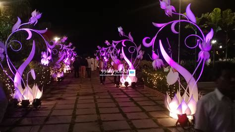 Wedding Flowers And Decorations by Hydrabad Event Wedding And Reception Flowers Decoration
