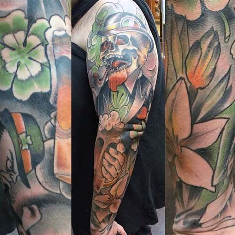 70 irish tattoos for men ireland inspired design ideas