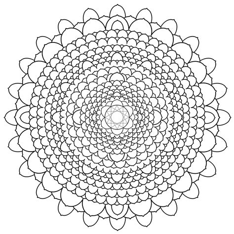 mandala flower coloring pages difficult free printable mandalas for adults difficult mandala