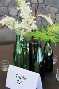 Wine Bottle Vase Centerpieces Pinterest Discover And Save Creative Ideas
