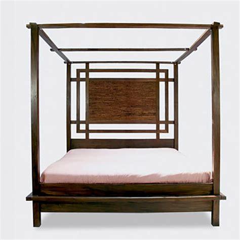 canopy platform bed kobe canopy platform bed tansu net