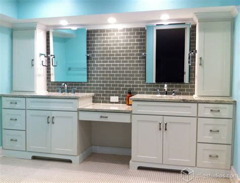 white cabinets in bathroom white cabinets mission cabinets cliqstudios